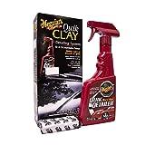 Meguiar's G1116EU Quik Clay Starter Kit Reinigungsknete