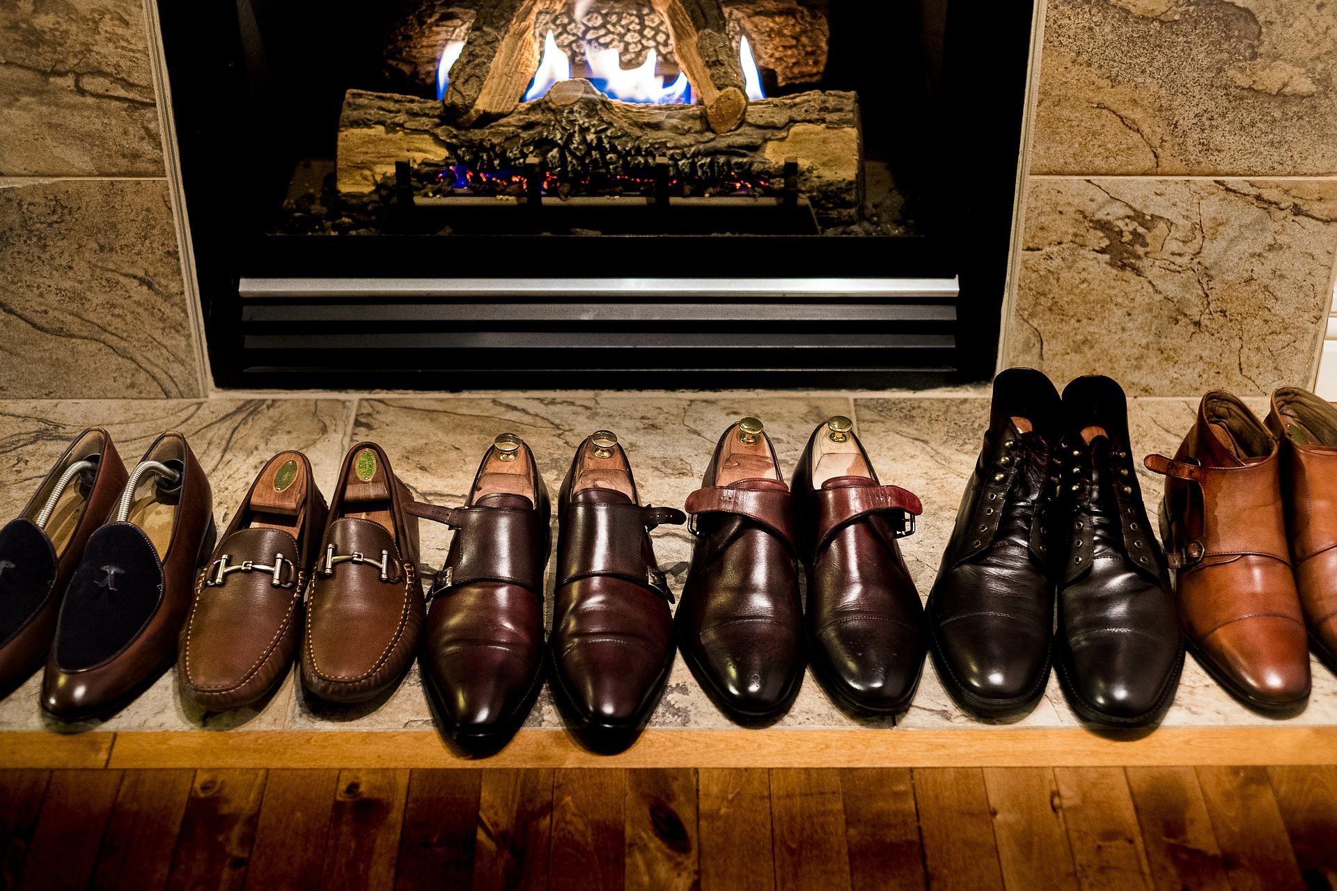 Schuhputzmaschine immer saubere Schuhe